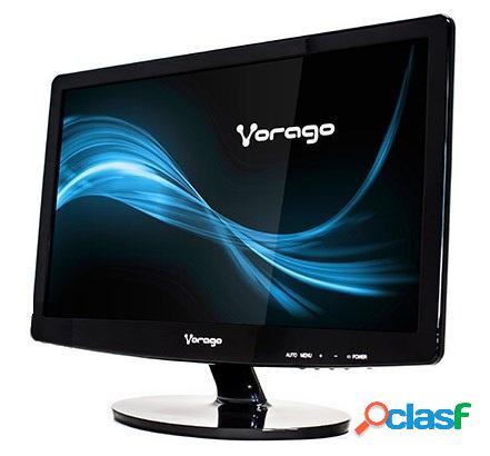 Monitor Vorago LED-W15-200 15.6'', Widescreen, Negro