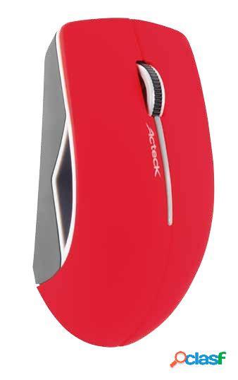 Mouse Acteck Óptico AC-916547, RF Inalámbrico, 1200DPI,