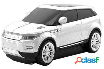 Mouse BRobotix Land Rover, Inalámbrico, USB, 1600DPI,