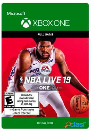 NBA LIVE 19: The One Edition, Xbox One - Producto Digital