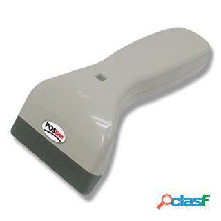 POSline SC2100b Lector de Código de Barras CCD 1D, Beige -