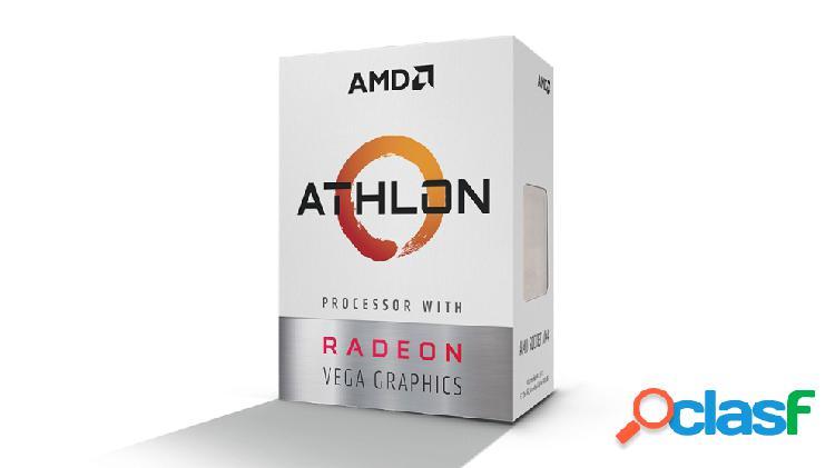 Procesador AMD Athlon 200GE con Gráficos Radeon Vega 3,