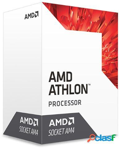 Procesador AMD Athlon 240GE con Gráficos Radeon Vega 3,