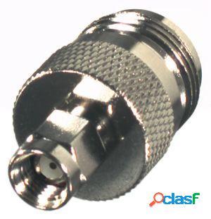RF Industries Conector Coaxial SMA Macho - Clase N Hembra,