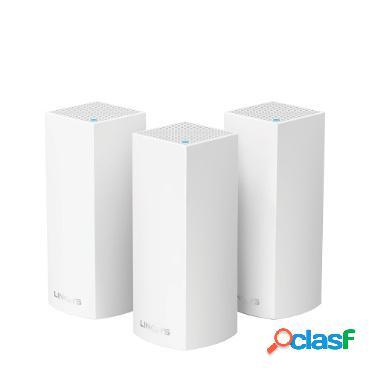 Router Linksys con Sistema de Red Wi-Fi en Malla Tri-Banda