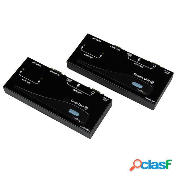 StarTech.com Extensor de Consola KVM USB por Cable Ethernet