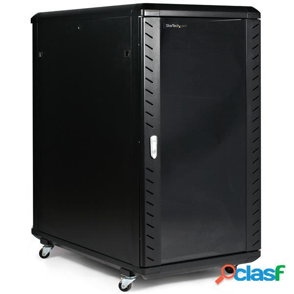 StarTech.com Gabinete Desarmable de 36'' y 22U con Ruedas