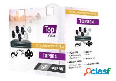Topvision Kit de Vigilancia TOP804 de 4 Cámaras CCTV Bullet