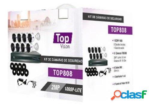 Topvision Kit de Vigilancia TOP808 de 8 Cámaras CCTV Bullet