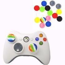10 Gomas Grips Para Joystick Controles Xbox Ps3 Ps4 Xbox One