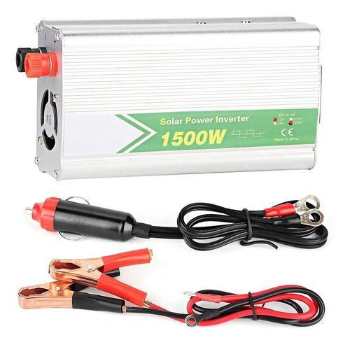 1500w 1usb Convertidor De Energía Del Coche Convertidor Del