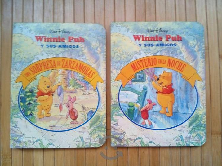 2 Libros de cuentos de Winnie Pooh de Walt Disney
