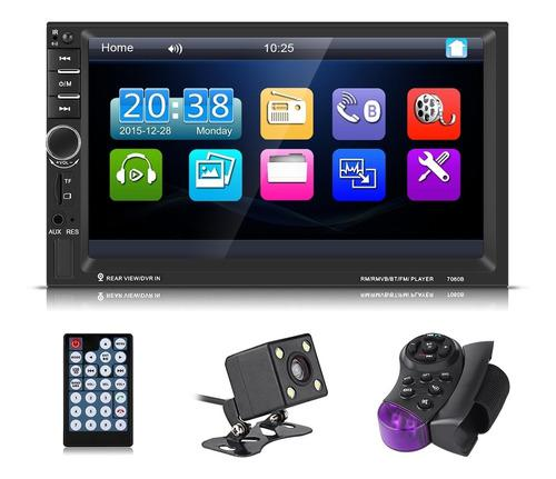 7 Hd Bluetooth Coche Player Mp5 Autorradio Aux Control Remo