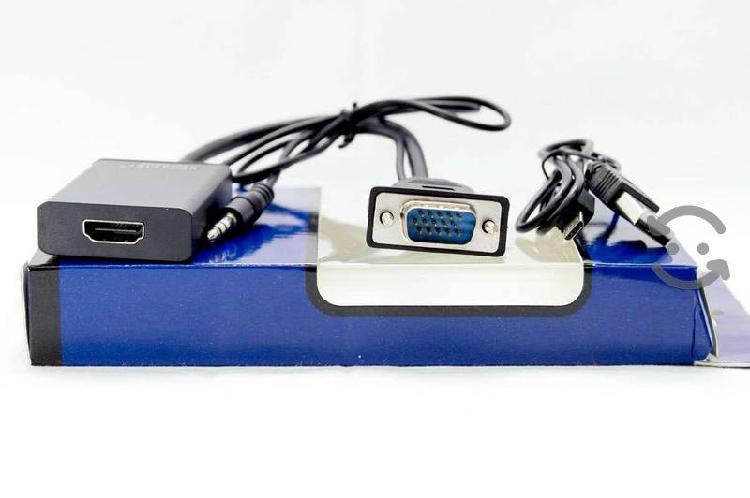 Cable HDMI a VGA En la compra de 3 DESCUENTO