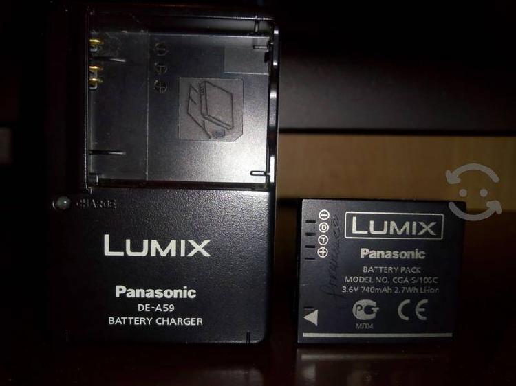 Cargador y Batería para Panasonic Lumix FH20
