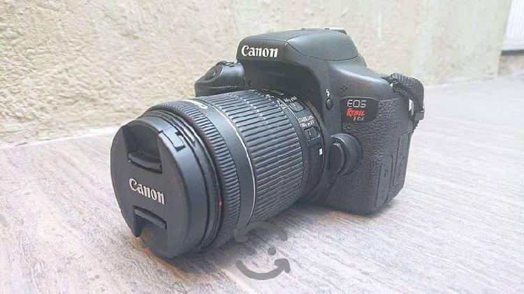 Cámara profesional Canon EOS Rebel T6i