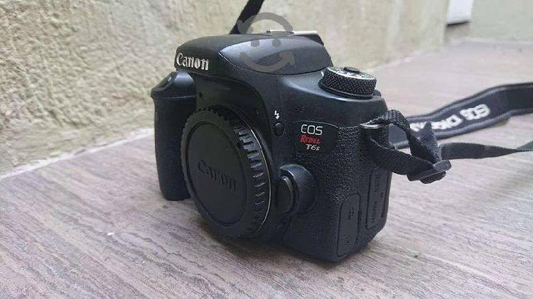 Cámara profesional Canon EOS Rebel T6s