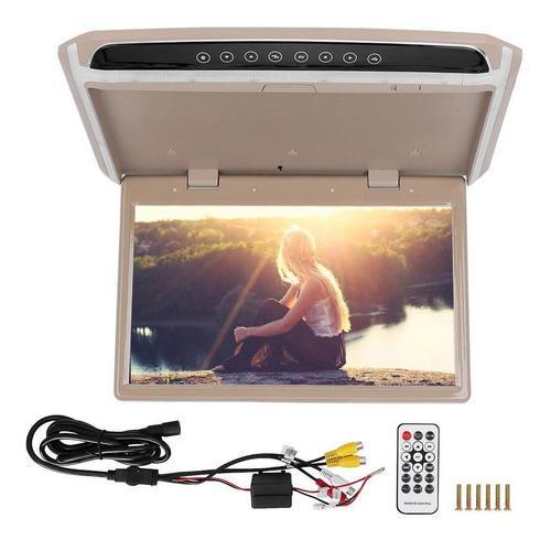 Coche Auto 15.6in Tft Techo Techo Video 1080 P Hd Monitor Pa
