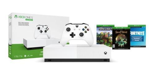 Consola Xbox One S 1tb Edición All-digital Con 3 Codigos