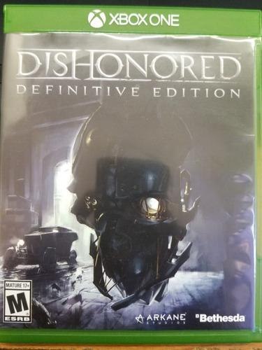 Dishonored Definitive Edition Xbox One Excelente Estado