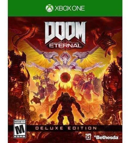 Doom Eternal Edición Deluxe Xbox One + Left 4 Dead 1 Y 2