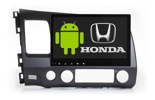 Honda Civic Android Estereo Gps Pantalla Bluetooth Mirror Bt