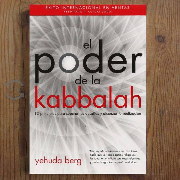 LIBRO : El Poder de la Kabbalah - Yehuda Berg