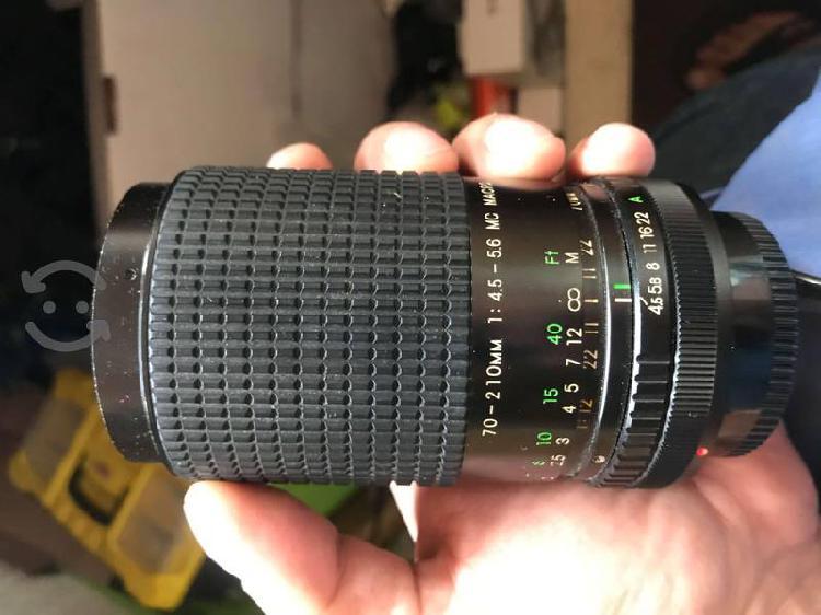 Lente Canon 70 210mm 1:45-5.6 Mc Macro