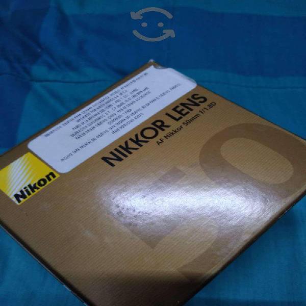 Lente Nikon AF 50 mm F / 1.8 D