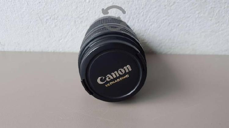 Lente canon ultrasonic 75 - 300mm