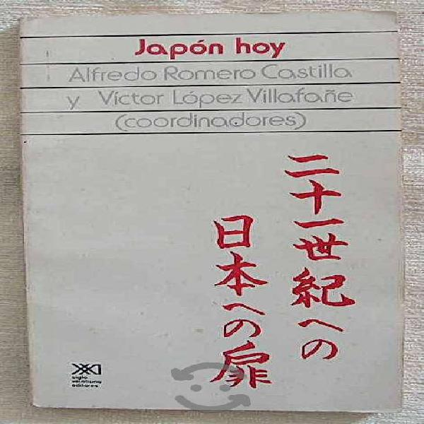 Libro japon hoy alfredo romero castilla