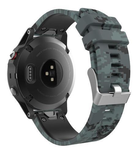 Moko Garmin Fenix 5 Quick Fit 22 Ver Banda Reemplazo Silicon