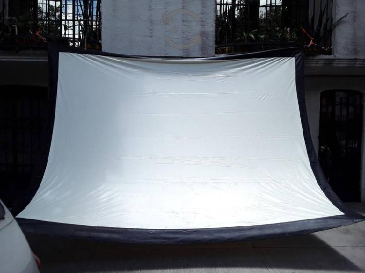 Pantalla para proyeccion da lite dafast 4m x 3m