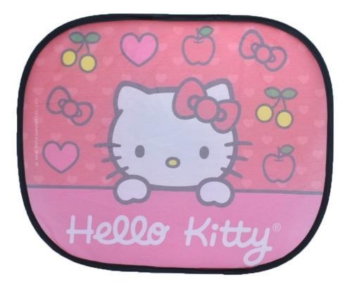 Par De Sombras Laterales Para Auto Hello Kitty Original