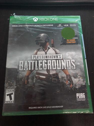 Playerunknowns Battlegrounds (pubg) Xbox One Físico Nuevo