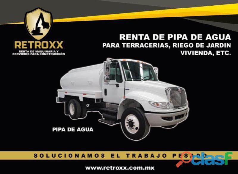 RENTA DE PIPA DE AGUA EN MONTERREY