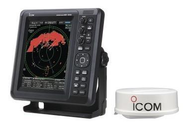 Radar Marino Tipo Domo De 36nm, Con Pantalla A Color De 10.4