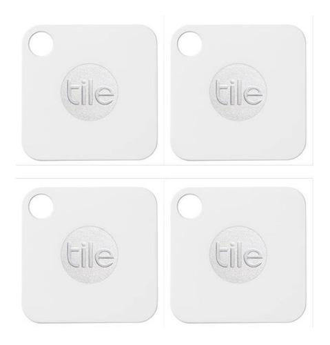 Rastreador De Objetos Tile Mate Individual Bluetooth 4 Pieza