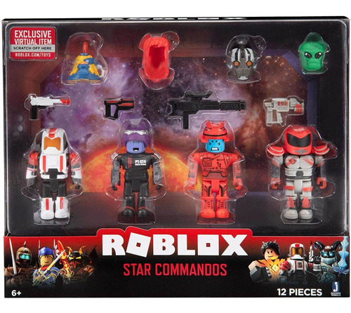 Roblox Mix Match Figura De Acción Star Commandos Juguetes