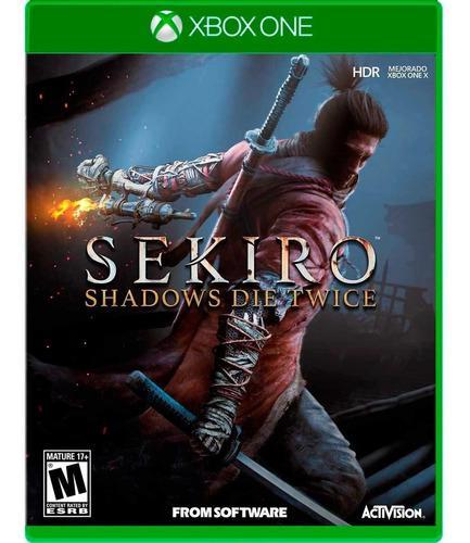 Sekiro Shadows Die Tiwice Xbox One Nuevo Sellado Fisico