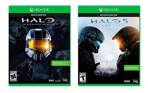 Two Pack: Halo 5 + Halo Master Chief