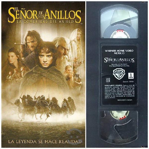 VHS Señor de los Anillos: La Comunidad del Anillo