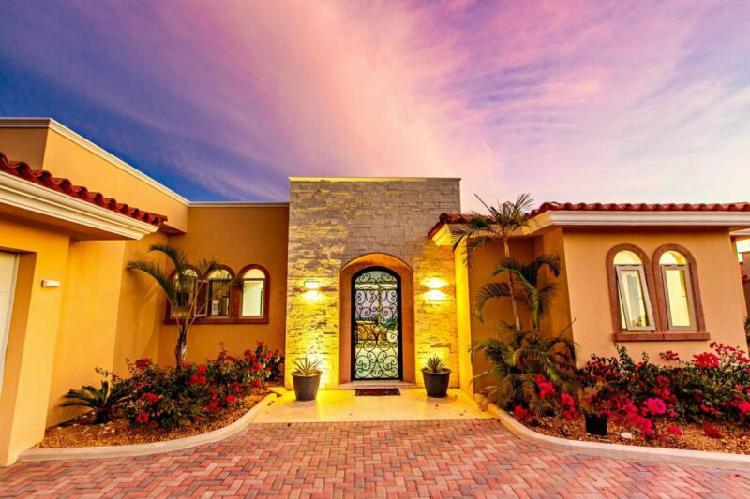 casa en venta cabo san lucas residencial 5 recamaras