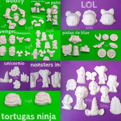 30 Figuras De Yeso Infantiles