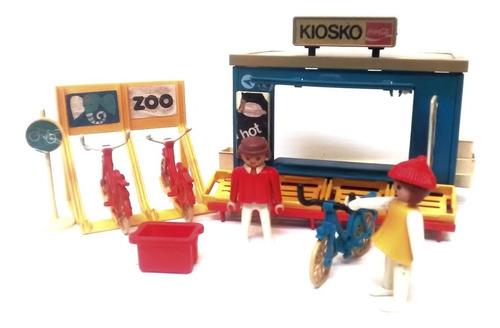 Playmobil Kiosko Coca Cola Vintage Circo Zoologico Feria