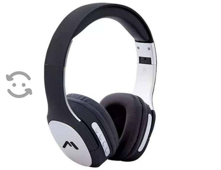 Audífonos De Diadema Manos Libres Bluetooth Recarg