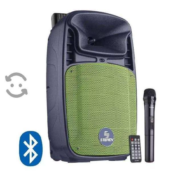 Bafle Bocina Bluetooth De 12 1300 Wpmpo Recargable