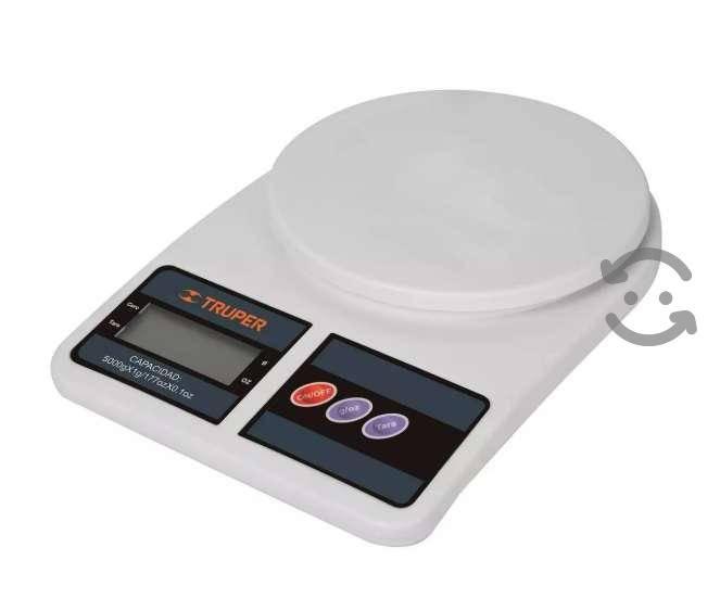 Bascula Digital Gramera D Cocina De 1 G A 5 Kg