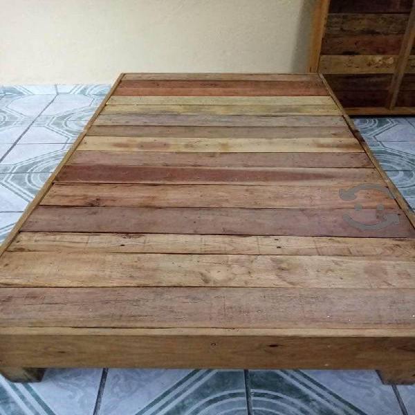 Base individual de madera reforzada