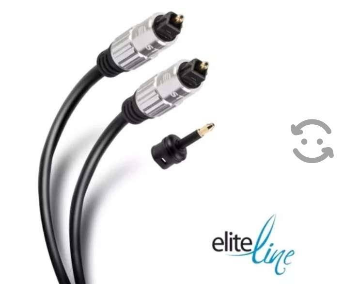 Cable Toslink De Fibra Óptica Para Audio Digital,